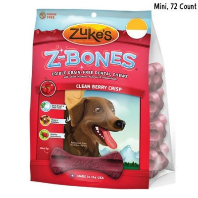 Zukes Z-Bones Cherry Mini Single