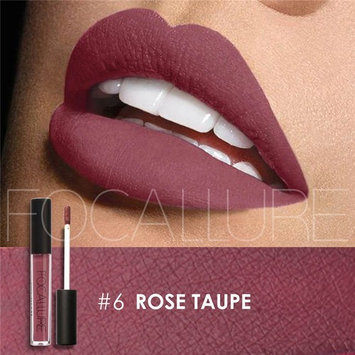 Matte Lipstick Focallure Purple Plum Stay On Glossier Lip Gloss Long Lasting Colorstay Liquid Waterproof Makeup Shimmer Lipgloss Rose Taupe