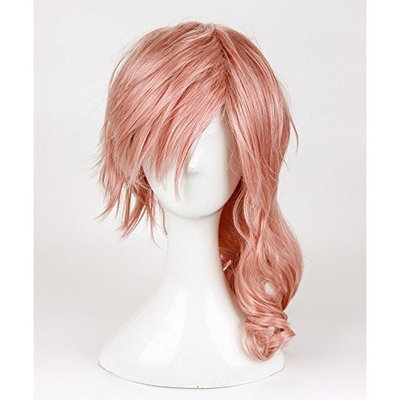 Cosplay Wig for Long Mix Pink Wig Final Fantasy Lightning Srah Wig Heat Resistant Fiber Party Wigs