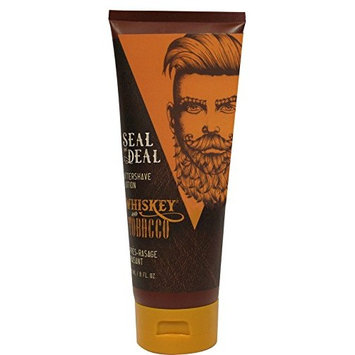 Whiskey and Tobacco Seal The Deal After Shave Lotion 8 fl oz