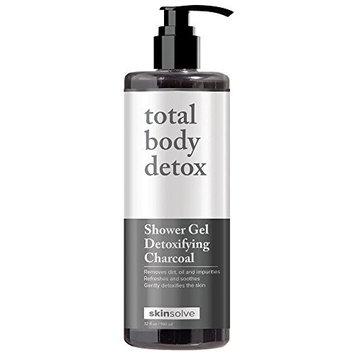 Skin Solve Detoxifying Charcoal Shower Gel 32oz / 960ml