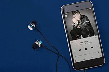 Impecca I Love Ny EB301B Eb301 Metal Stereo Earbuds - Blue