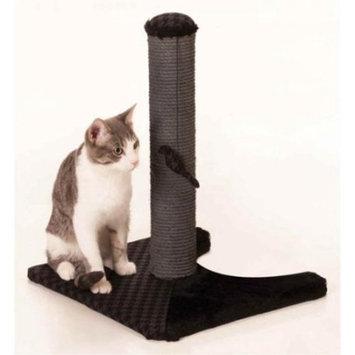 Max & Marlow Cat Scratch Post, Black, 18