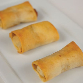 Philly Cheese Steak Spring Roll - Gourmet Frozen Beef Appetizers (50 Piece Tray)