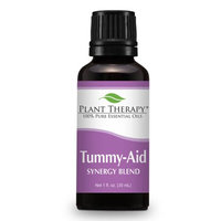 Tummy Aid Synergy Essential Oil Blend. 30 ml. 100% Pure, Undiluted, Therapeutic Grade. (Blend of: Dill Seed and Sweet Fennel)