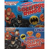 Imaginings 3 Flix Candy Justice League 3-pk. Ring Pop