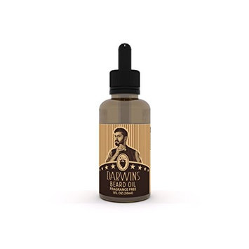 Darwin's Beard Oil Formula Full of Vitamins for a Fuller, Longer, Thicker Beard | Made In USA | Dandruff Remover & Stops Itching | Best Practice to Use Everyday | 1 oz