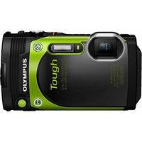 Olympus - Tg-870 16.0-megapixel Digital Camera - Green