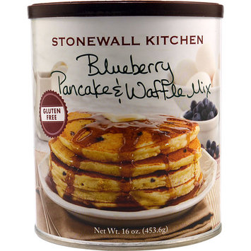 Stonewall Kitchen Gourmet Gluten Free Pancake & Waffle Mix Blueberry -- 16 oz