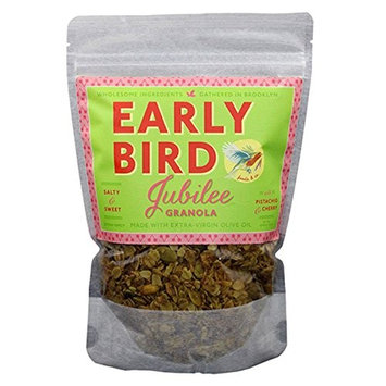 Early Bird Granola - Jubilee Recipe - Granola with Pistachios and Cherries 12 oz - Pack of 3 [Pistachios and Cheeris]