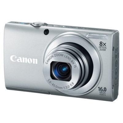Canon - PowerShot A4000 IS 160-Megapixel Digital Camera - Silver