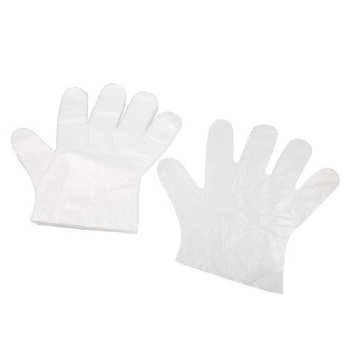 Plastic Cleaning Supplies Multipurpose Disposable Gloves 50 Pcs