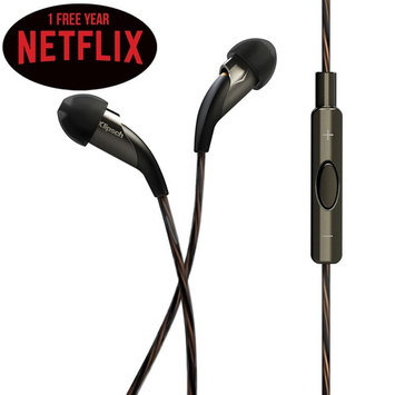 Klipsch Reference X20i In-Ear Headphones w/ Remote and Mic Plus 1 Free Year of Netflix