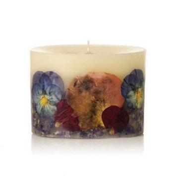 BOHEME Rosy Rings Petite Oval Botanical 60 Hour Pillar Candle