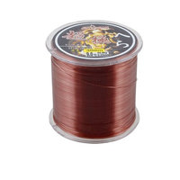 0.55mm Dia 22.5Kg Burgundy Nylon Freshwater Fishing Line Thread Reel 300M 9.0