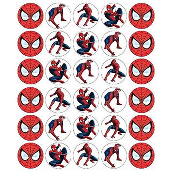 Spider cupcake Toppers Edible Wafer Paper BUY 2 GET 3RD FREE