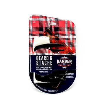 WavEnforcer Authentic Barber Series Beard & Stache Kit