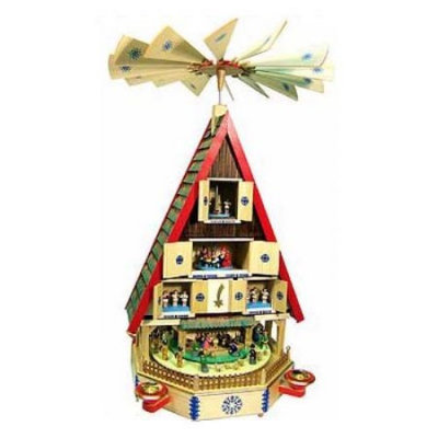 Alexander Taron Importer Richard Glaesser Richard Glaesser House Design Christmas Pyramid