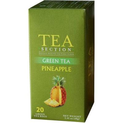 Tea Section Pineapple Green Tea Bags, 20 count, 1.41 oz