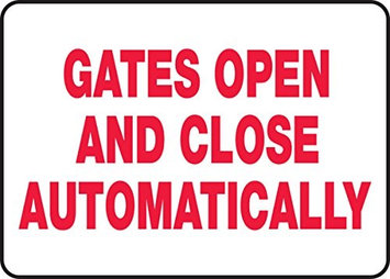 Accu Form Gates Open And Close Automatically