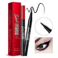 Putars Women Sexy Eyeliner Pen Makeup Cosmetic Black Pink Liquid Eye Liner Pencil Make Up Tool Black