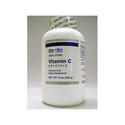 Vitamin C Crystals 16 oz by BodyBio/E-Lyte