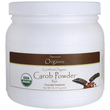 Swanson Certified Organic Carob Powder 1 lb (454 g) Pwdr