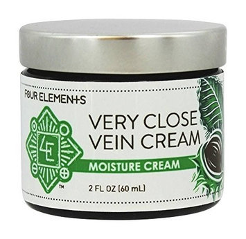 Four Elements Herbals - Moisture Cream Very Close Vein Cream - 2 oz.