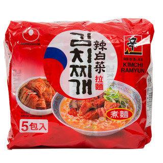 NONGSHIM Kimchi Instant Noodle Soup 4packs