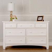 Evolur Fairbanks Double Dresser - Winter White