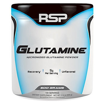 Rsp Nutrition Glutamine Unflavored - 500 Grams