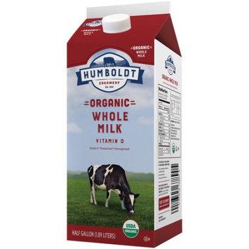 Humboldt Creamery Humboldtâ ¢ Organic Whole Milk, .5 gal