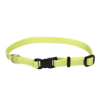 Coastal Pet Products CO63018 12 inch Lime Tuff Nylon Adjustable Collar