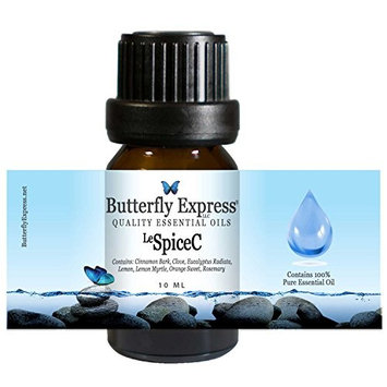 Le SpiceC Essential Oil Blend 10ml - 100% Pure - by Butterfly Express