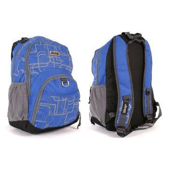 Royal Blue Jeep backpack shoulder school bag