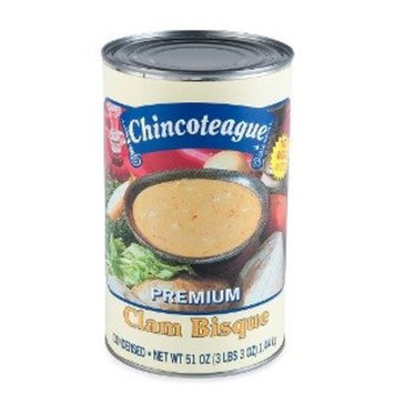 Chincoteague Seafood Clam Bisque Condensed 6-51oz Cans