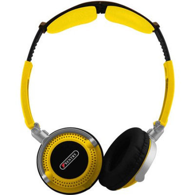 Neon Folder Stereo Headphones