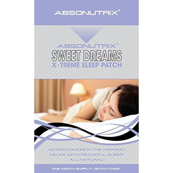 30-Sweet Dreams X-Treme Natural Sleep Patch by Absonutrix