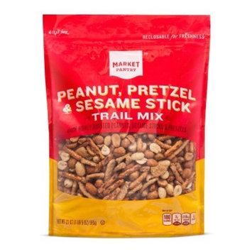 Peanut, Pretzel & Sesame Stick Trail Mix - 21oz - Market Pantry™