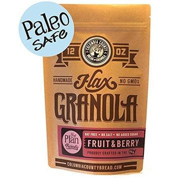 Fruit & Berry Flax-Granola 12 oz [Fruit & Berry]
