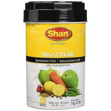 Shan Mixed Pickle - 1 Kg (2.2 Lb)