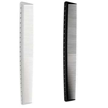 MagiDeal 2pcs Anti Static Barber Close Teeth Comb Hair Styling Hairdressing Cutting Fine Comb Hairbrush