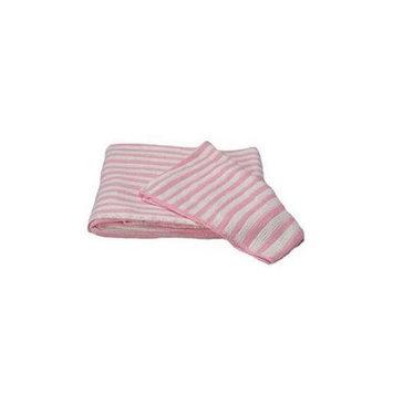 Scene Weaver(TM) Pink Stripe Baby Blanket