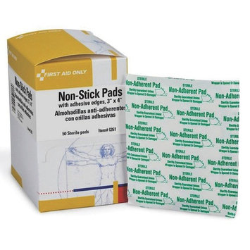 Non-Stick Pad, w/Adhesive Edges, 3
