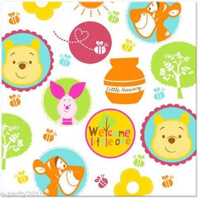 Hallmark Disney Pooh Little Hunny Bunny Baby Shower Lunch Napkins
