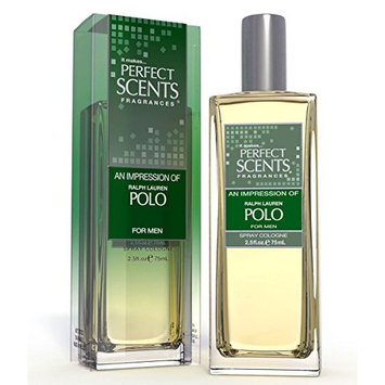 Perfect Scents Impression of Polo for Men Cologne, 2.5 Fluid Ounce