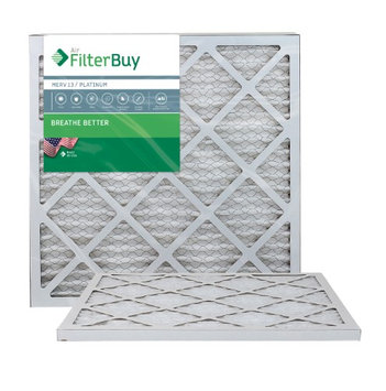 AFB Platinum MERV 13 22x22x1 Pleated AC Furnace Air Filter. Filters. 100% produced in the USA. (Pack of 2)