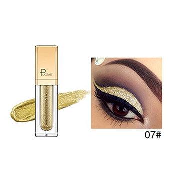JaneDream Pro Makeup 18 Colors Liquid Eyeshadow Women Sexy Smoky Shimmer Metallic Glitter Eyeliner Eye Shadow 07#