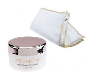 Josie Maran Argan Cleansing Treatment w/ Dual Sided Cloth