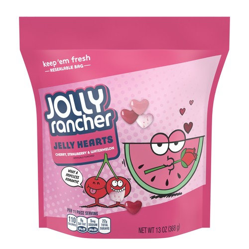 Jolly Rancher Hearts Pouch, 13 Oz.